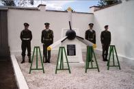 Pomník letcům v Duchcově