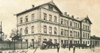 Most. Nádraží, kolem roku 1914