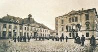 Most. Okresní hejtmanství, kolem roku 1915.