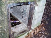 Detail vstupního otvoru