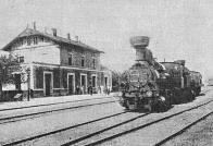 Tento typ parních lokomotiv jezdil na Mostecku počátkem 20. století