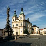 Duchcovský zámek s kostelem Zvěstování P. Marie