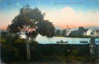 Kaple na historické pohlednici