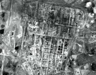 Letecký snímek prostoru dnešního závodu o 9 let později- 1947