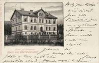 č.p. 167 na pohlednici