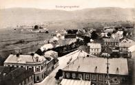Pohled z kostela sv. Mikuláše na severní část obce