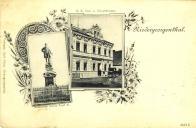 Socha Josefa II. a K.K. Pošta