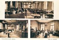 Po skončení světové války měli lidé obrovskou chuť se bavit. Hojně proto navštěvovali hostince, kavárny a další podniky. Ilustrační foto hostince U Lípy v Plynárenské ulici. foto: Oblastní muzeum v Mostě.
