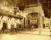 Tělocvična Turnhalle kolem roku 1912.