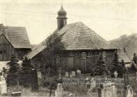 Kostelík z poloviny 16. století je jedinečná celodřevěná lidová památka v Krušnohoří. Kostelík jako jediný z Flájí přežil, byl rozebrán a postaven v Českém Jiřetíně