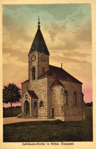 """Kaple  Nanebevstoupení Panny Marie jejíž vznik v roce 1898 inicioval spolek """"Spolek pro zřízení kaple Nanebevstoupení Panny Marie"""". Vysvěcena byla v roce 1916 a její existenci ukončil odstřel v roce 1964."""