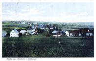 Kromě zemědělství živil místní obyvatelstvo i drobný průmysl. Na snímku je jedna z drobných továrniček, kterých bylo na obou stranách hraničního potoku Svídnice mezi Klíny a ústím potoka do řeky Flöha několik