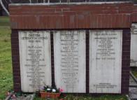 Pomník přenesený na nový hřbitov v Litvínově