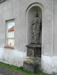 Socha Jana Křitele