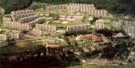 Janovské sídliště s novou dispozicí zástavby nahradilo původní rozložení zemědělských usedlostí.