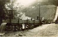 Janov regulace potoka 1913.