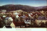 Pohled přej Janov-Hamr, na Hamerské údolí 1907.
