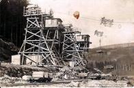 Fotografie ze stavby v r.1914