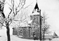 Mikulovická kaple z r.1908  na fotografii před r.1972