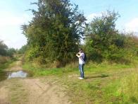 V těchto místech tradičně na rozcestí stávala pravděpodobně 4 zmizelá kaplička-foto  s figurantem :)