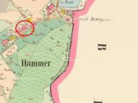 Kavárna čí její objekt, existovala podle mapy stabilního katastru již roku 1842