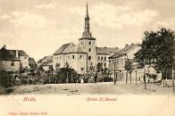 Kostel sv. Václava v královském městě Most