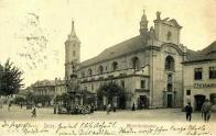 Minoritský kostel sv. Františka Serafínského s klášterem
