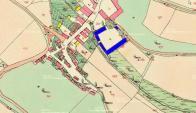 Na mapě povinného stabilního katastru z let 1840-1850. Zámeček navazuje na další hospodářské budovy a dispozičně s nimi tvoří čtverec, uprostřed něj se nachází zámecká zahrada-park