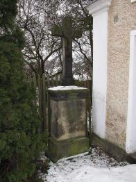 Kaplička na Křižatkách - kříž