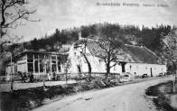 """Šubertova """" letně-pobytová """" restaurace. cca 1910"""