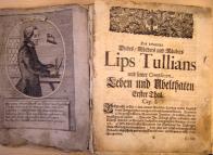"""O osobě vraha se dozvídáme ze starého tisku """" Des bekannten Diebes, Mörders...Lips Tullians und seiner Complicen Leben und Übelthaten..."""""""