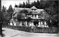 Hospoda Grundschänke. foto cca 1930.