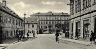 Osecká ulice a Německá škola
