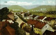 Co vám mám povídat, když neznámý autor pohlednici tak hezky popsal:-) Doly Moritz a Marie. Pošta a četnická  stanice