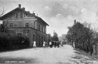 Dolní nádraží cca 1910