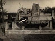 Pomník Antonína Novotného. Autor: archiv svazu skautů a skautek ČR, středisko 425.01 Most