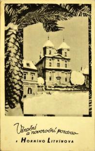 Vánoční přání z r. 1948