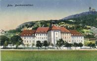 Budova současného muzea v době, kdy v ní byly jiné instituce (škola,sirotčinec)