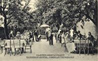 Zahradní restaurace na nádraží