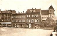 Pohled na východní část náměstí, cca 30. léta