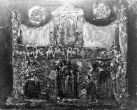 Koncem padesátých let se začal věnovat i technický náročné olejomalbě a i v ní rychle dospěl přes klasické pojetí malby různých žánrů