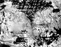 Koncem padesátých let se začal věnovat i technický náročné olejomalbě a i v ní rychle dospěl přes klasické pojetí malby různých žánrů až k téměř totální abstrakci, i když se zřetelnými prvky tehdejší, průmyslem totálně destruované krajiny Mostecka
