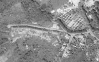 Alešova ulice, část která byla vystavěna společně s Osadou. Rok 1953.