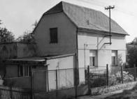 Osada Pokrok 70. léta - ulice Svobody s převážně soukromými rodinnými domy