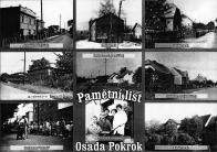 Při setkání rodáků v r.2005 dostali všichni od pořadatele historii obce s pamětním listem Osada Pokrok 1985. Na tomto listě bylo 9 snímků ulic restaurace a prodejny potravin v pěkné grafické úpravě