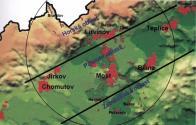 Rozčlenění regionu na oblast  horskou ,pánevní, a zemědělskou