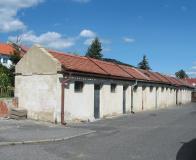 Rekonstruované šupny v oblasti na rozhraní Litvínova a Lomu, v ulici Spojeneckých letců