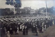 Turneři v Chomutově v r. 1910