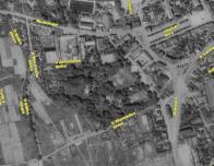 Dnes tvoří převážnou většinu této ulice paneláky, ale na mapě z r. 1953 po nich zatím ani vidu...