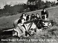 Sestřely dvou německých stíhaček v Krušných horách